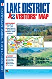 img - for Lake District Visitors Map (A-Z Visitors Map) book / textbook / text book