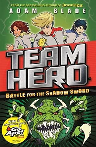 book cover of Battle for the Shadow Sword