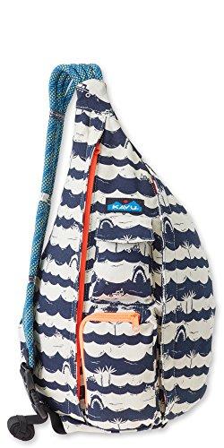 Travel Shopper Bag - KAVU Rope Bag, Shark Bait, One Size