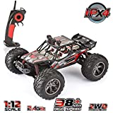 VATOS Remote Control Car High Speed Off Road Vehicle 1:12 Scale 2WD 26+MPH Waterproof all Terrain RC Car Truck Buggy for Kids and Adults