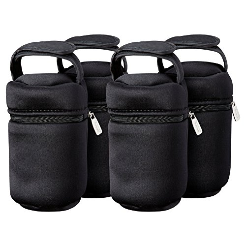 Tommee Tippee Insulated Bottle Bag, 4-Count by Tommee Tippee