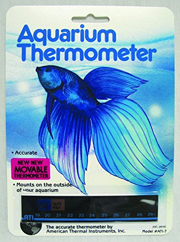 American Thermal - Aquarium Horizontal Thermometer