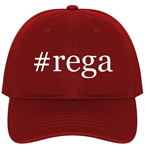 #rega - A Nice Comfortable Adjustable Hashtag Dad Hat Cap, Red