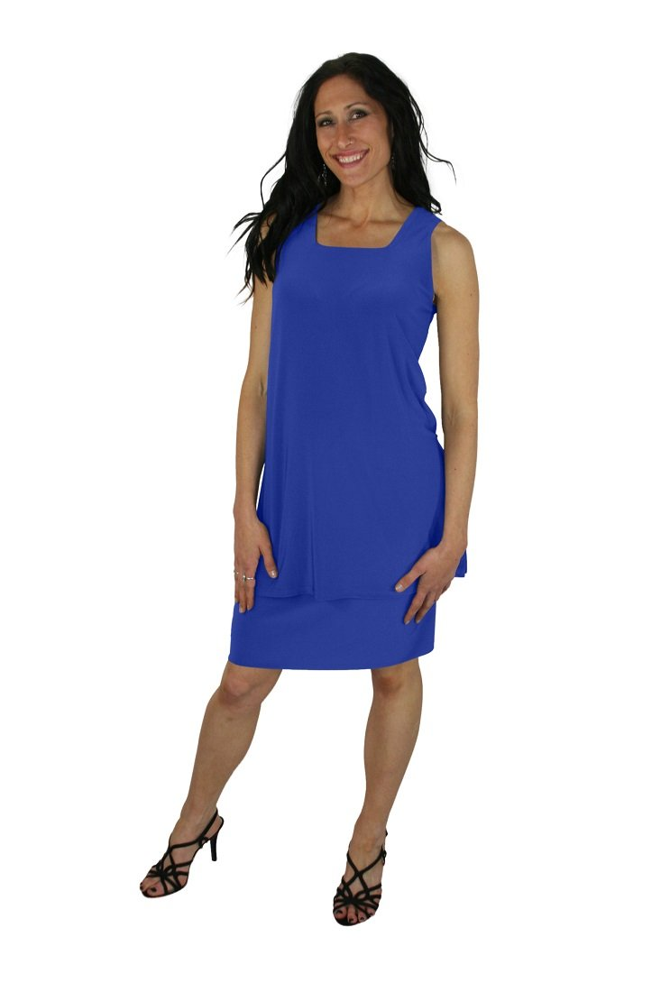 Sympli Women's Tube Skirt Short-Aruba-12 (12, ARUBA)