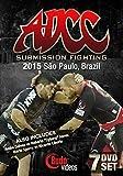 ADCC 2015 Complete 7 DVD Set by Cyborg Abreu, Cobrinha, Orlando Sanchez Andre Galvao