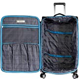 Perry Ellis Luggage Glenwood 2 Piece Set Expandable Suitcase with Spinner Wheels