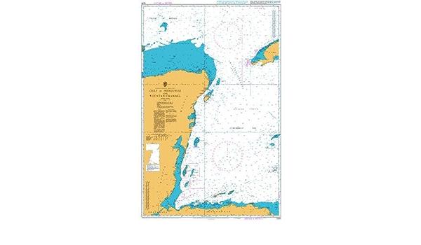Ba gráfico 1220: Canal de Yucatán y golfo de Honduras: Amazon ...