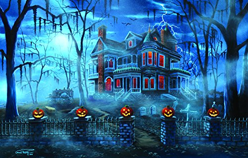Misty Magic 1000 Piece Jigsaw Puzzle by SunsOut - Halloween Theme