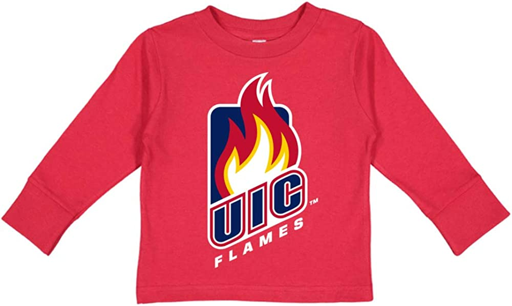 NCAA Chicago Flames PPUIC102 Toddler Long-Sleeve T-Shirt