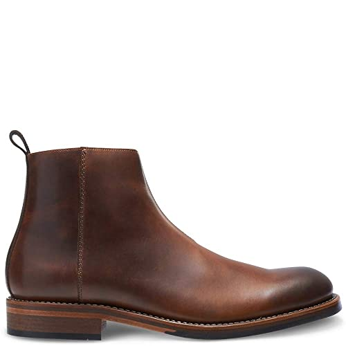 5012fd35f45 Amazon.com | Wolverine Men's 1000 Mile Montague Chelsea Zip | Boots