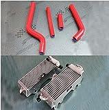 yz 125 radiator - GOWE radiator& hose For Yamaha YZ 125 1996-2001 R&L aluminum radiator and silicone hose kit