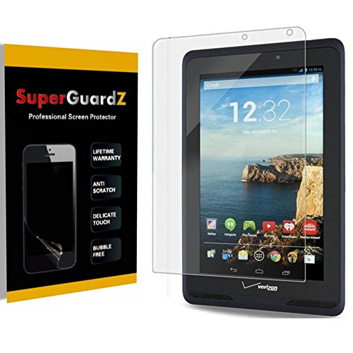 [3 PACK] For Verizon Ellipsis 7 - SuperGuardZ Screen Protector, Ultra Clear, Anti-Scratch, Anti-Bubble