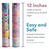 TUR Party Supplies Confetti Cannon Party Poppers