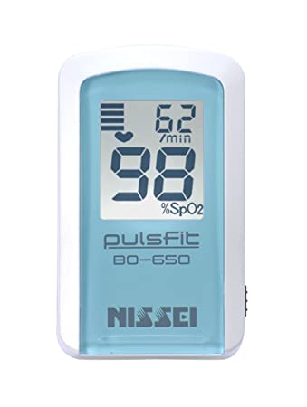 【あす楽】 パルスオキシメーター 安心の日本製 パルスフィット /(NISSEI/) BO-650 日本精密