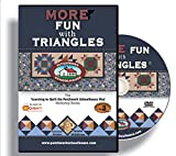Quilting: Patchwork Schoolhouse teaches More Fun with Triangles on DVD