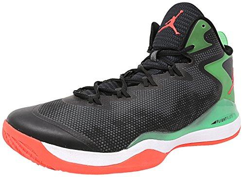 [684933-030] Air Jordan Super Fly 3 Mens Sneakers Air Jordanblack Infrarossi 23 Verde Chiaro Scintilla