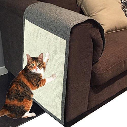 foviupet Cat Scratch Mat Sofa Shield Pet Furniture Cover Washable and Durable Cat Scratcher Pad Cover You Sofa to Prevent Furniture Scratching ()