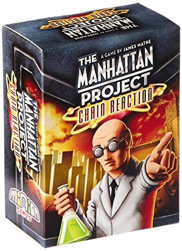 Minion Games The Manhattan Project Chain Reaction Board Game (Minion Play Card)