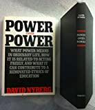img - for Power over Power: What Power Means in Ordinary Life, How It Is Related to Acting Freely, and What It Can Contribute to a Renovated Ethics of Educatio book / textbook / text book