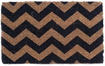 Coco Mats N More BCCHVR1830 Chevron Design Coco Doormats,18 X 30 X 1 Thick