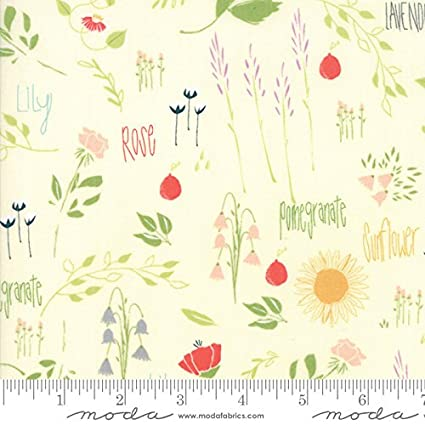 Amazoncom Moda The Front Porch Quilt Fabric Garden Style 3754011