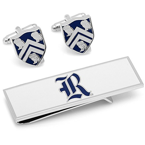 Rice University Owls Cufflinks and Money Clip Gift Set NCAA