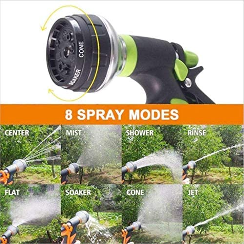 N/ A Metal Water Spray Nozzle, Spray Nozzle for Garden Watering Strong Set Hose Pipe Nozzle Connector Outdoor