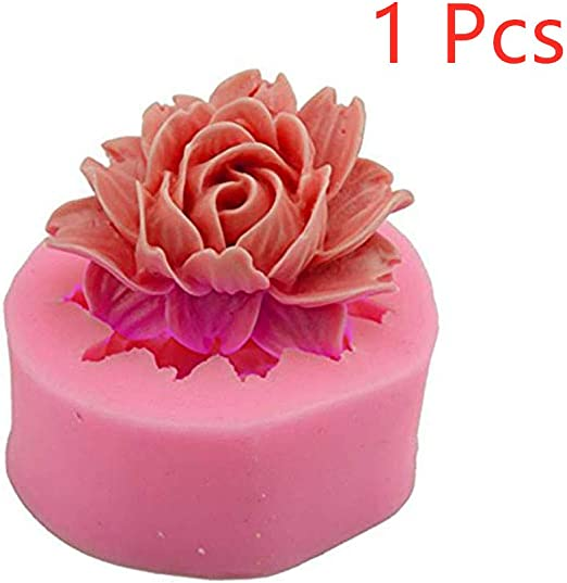 3D Silicone Sunflower Fondant Cake Candy Mold Decor Sugercraft Baking