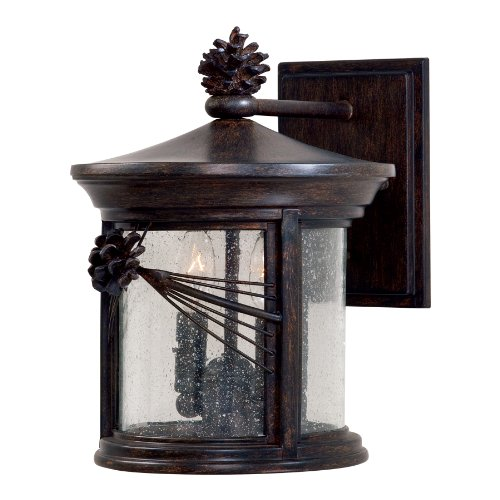Minka Lavery Outdoor 9152-A357, Abbey Lane Outdoor Wall Sconce Lighting, 40 Total Watts, Iron
