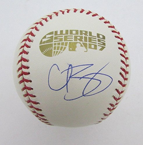 Curt Schilling Signed Baseball - 2007 World Series 128357 - Steiner Sports Certified - Autographed Baseballs ()
