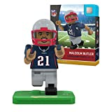 NFL New England Patriots Gen4 Limited Edition Malcolm Butler Mini Figure, Small, White