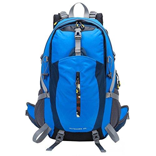 ZOUQILAI Outdoor Climbing Backpack Men And Women Sports Travel Backpack Hiking Camping Cycling Climbing Travel Bag 40L by ZOUQILAI