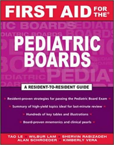 First Aid for the Pediatric Boards (First Aid Specialty Boards)