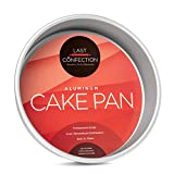 Last Confection 9'' x 2'' Deep Round Aluminum Cake Pan - Professional Bakeware