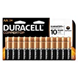 Duracell with Duralock Power Preserve Technology - 10 Year Guarantee in Storage
