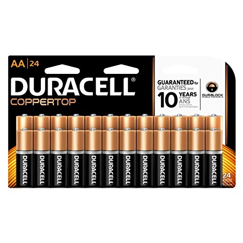 Price comparison product image Duracell Coppertop Alkaline Aa, 24 Count
