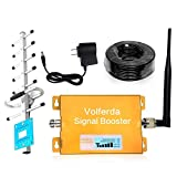 Volferda Cell Phone Signal Booster for Home 850MHz GSM CDMA Reception Booster for AT&T/Verizon/Cellular One/US Cellular