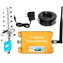Volferda Cell Phone Signal Booster For Home 850 MHz GSM CDMA Band 5 For AT&T/Verizon/Sprint/Cellular One/US Cellular