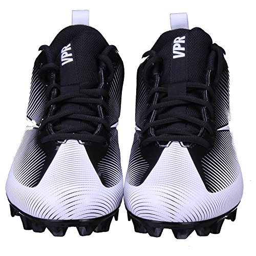 NIKE Mens Vapor Strike 5 TD Football Cleat Black/Black/White dPcsFS0wu