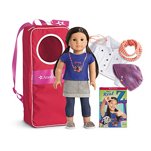 American Girl Z Doll, Accessories & Backpack Collection by American Girl