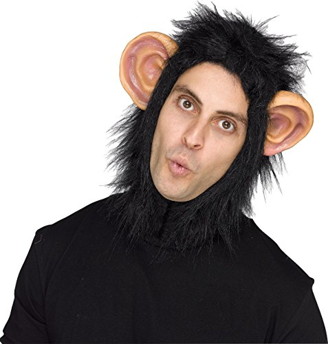 Fun World Chimp Adult Headpiece]()