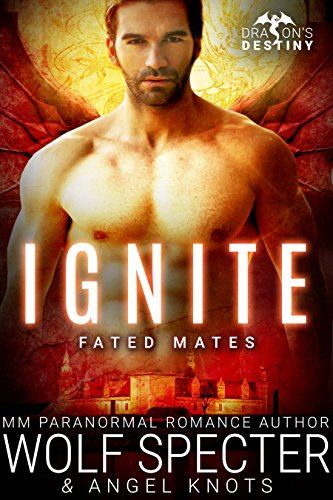 Ignite: M/M Gay Shifter Mpreg Romance (Dragon's Destiny: Fated Mates Book 3)