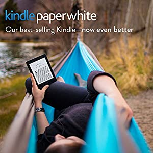 """Kindle Paperwhite E-reader - White, 6"""" High-Resolution Display (300 ppi) with Built-in Light, Wi-Fi - Includes Special Offers"""