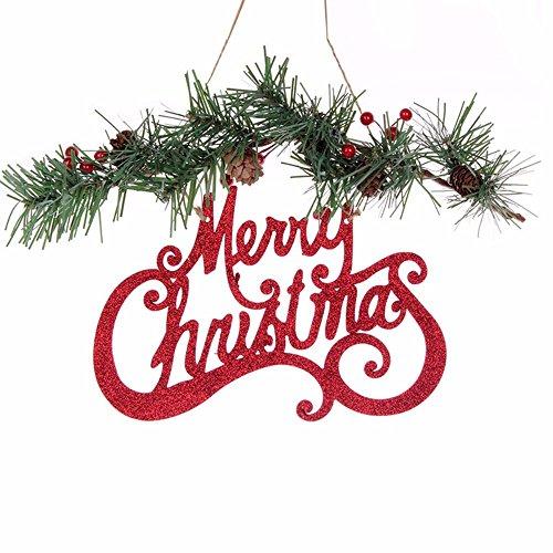 Christmas Ornaments Artificial Snow Pine Cone Tree Branch Merry Christmas Decor