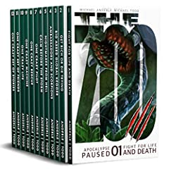 Apocalypse Paused Complete Omnibus (Books 1-12): Fight For Life And Death, Get Rich Or Die Trying, Big Assed Global Kegger, Ambassadors and Scorpions, Nightmares From Hell, plus 7 more titles...