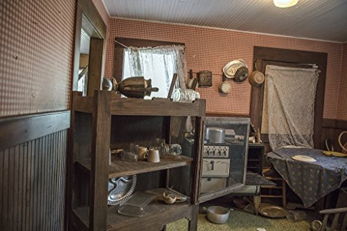 Photograph- Inside Dorothy's house, post tornado, at the Land of Oz, an unusual theme park at Beech Mountain, North Carolina 2 Fine Art Photo Reproduction 24in x 16in (Land Of Oz Theme Park Beech Mountain)