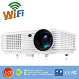 EVERYONE GAIN DH-TL120A Android LED Multimedia Projector 3D Wifi Smart Home Theater 1280*800 pixels Support Bluetooth Miracast Online upgrade System