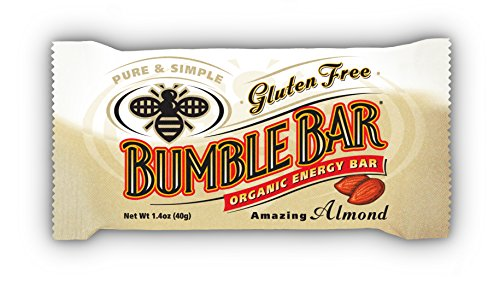 BUMBLE BAR Organic Energy Amazing Almond, 1.4 Ounce (Pack of 12) 51mzr8ejB0L
