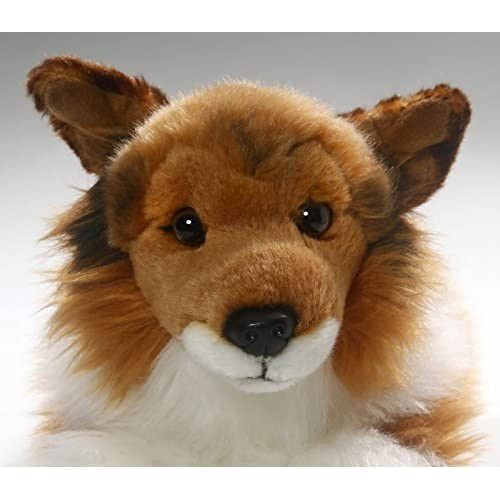 Free Shipping Shetland Sheepdog Collie Brown White 12 Inches