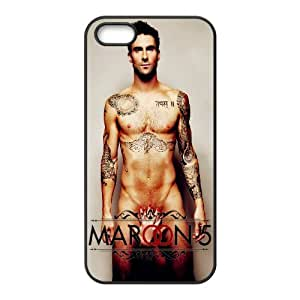 DIY Printed Maroon 5 hard plastic case skin cover For iPhone 5, 5S SNQ203138